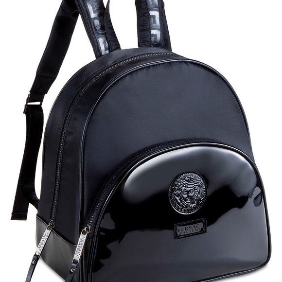 New Versace Backpack Parfums Brand Nwt jRL3A45